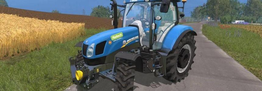 New Holland T6.175 by DJWoxix