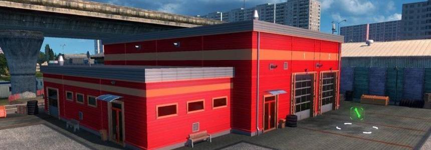 New Paint – Service Station V2