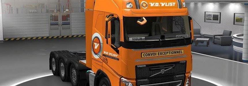 Pak skins VD Vlist New Style for truck v1