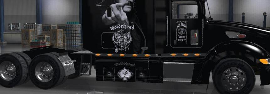 Peterbilt 386 MotorHead Truck Skin