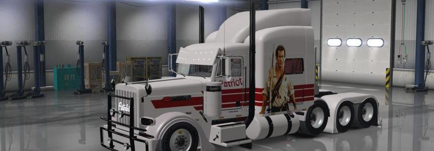 Peterbilt 389 v1.12 Patriot Skin