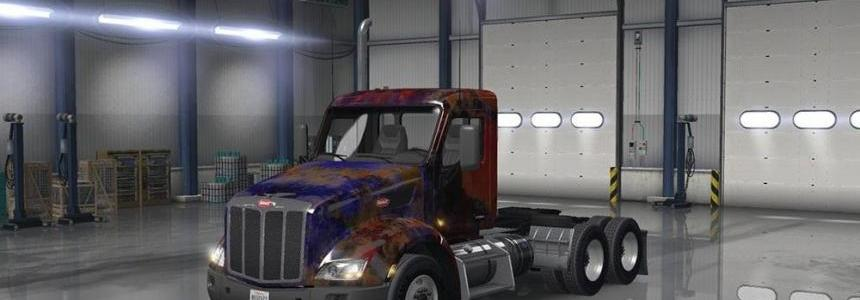 Peterbilt 579 Abstract Skin v1