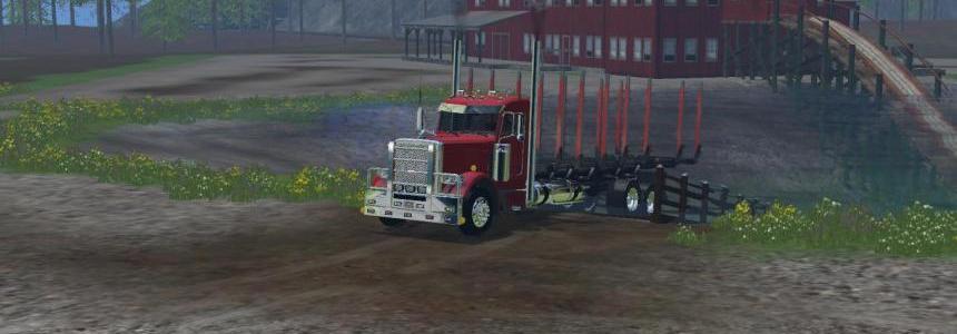 Peterbilt Log Truck v1.0