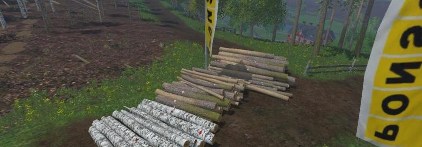 Pine trees with marks v0.8