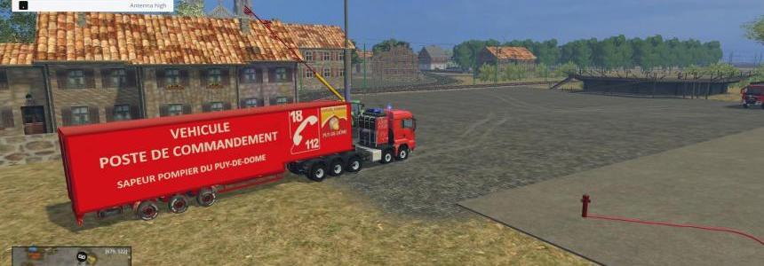 Poste de commandement  speciale pompier v1