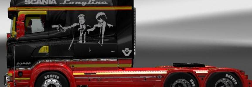 Pulp Fiction RJL SCANIA R longline v2.0