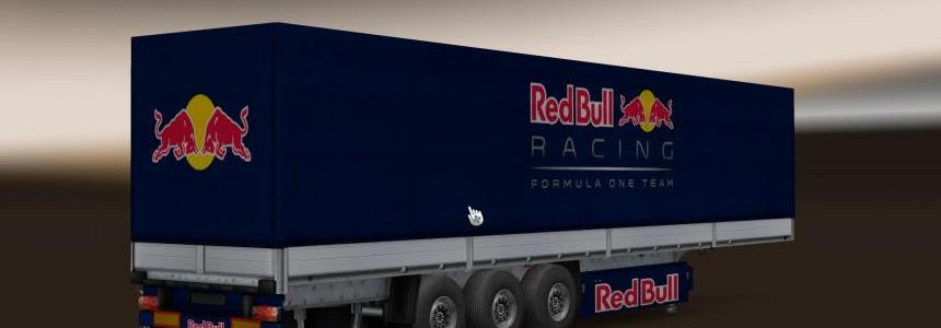 RedBull racing team trailer skin  1.22