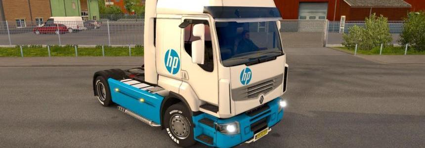 Renault Premium HP skin 1.22.x