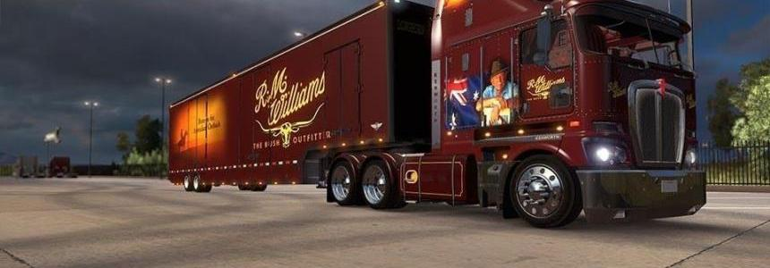 RM Williams Custom skin for the K200 V11 and Matching Trailer