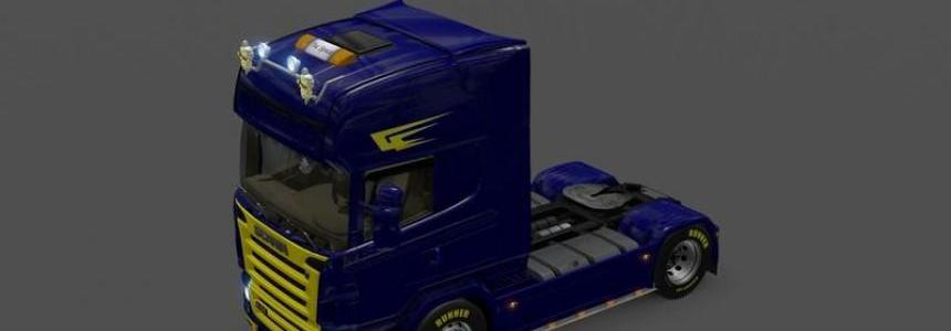 Scania Blue and Yellow