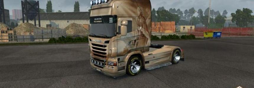 Scania R Lada skin 1.22.x