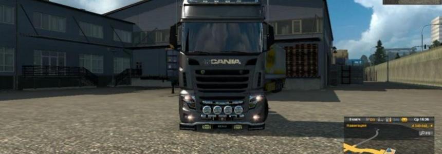 Scania r700 new AU44 1.23.х