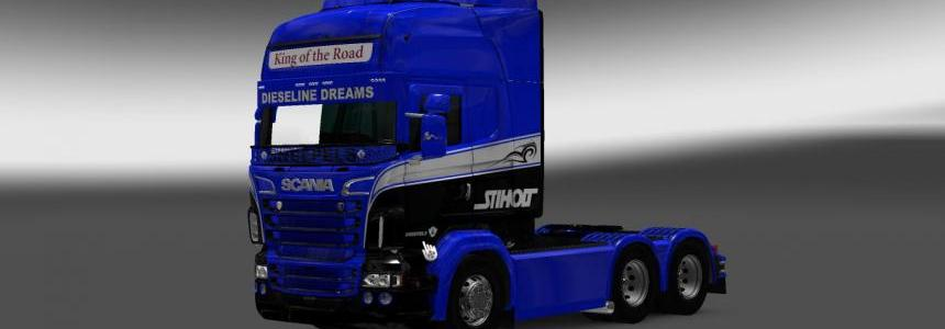 Scania RS RJL Dieseline Dreams Skin