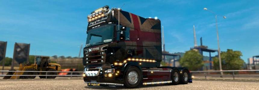 Scania RS (RJL) Flag Skin