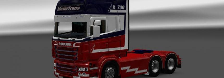 Scania RS RJL MoverTrance Skin