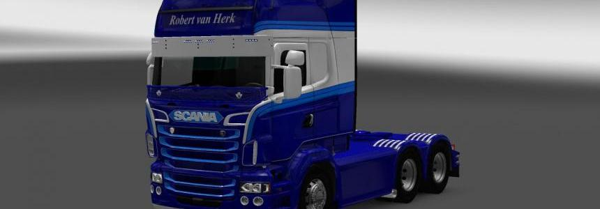 Scania RS RJL Robert van Herk Skin