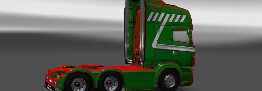 Scania RS RJL Tijs de Koning Skin
