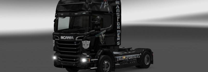 Scania Streamline Transformers skin 1.22