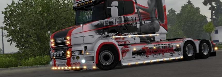 Scania T RJL Lovely Swirls Skin
