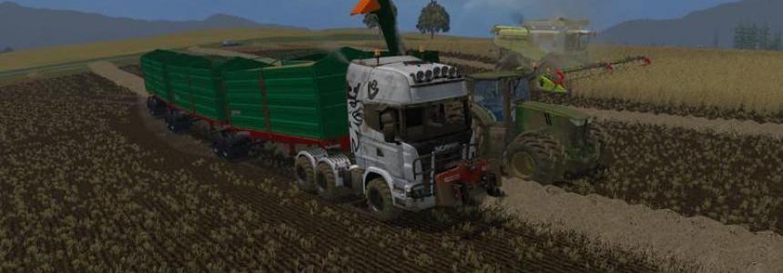 Scania Truck Agro v1.0