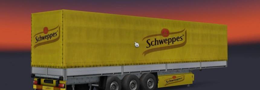 Schweppes trailer skin 1.22