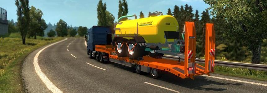 Single trailer - Fliegl - Zunhammer trailer v1.0