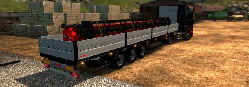 Single trailer - Kogel with Case cutter v1.0