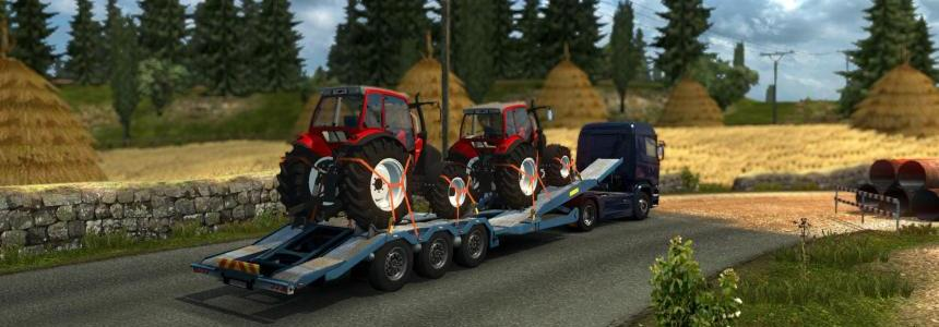 Single trailer - Lindner Geotrac 94 v1.0