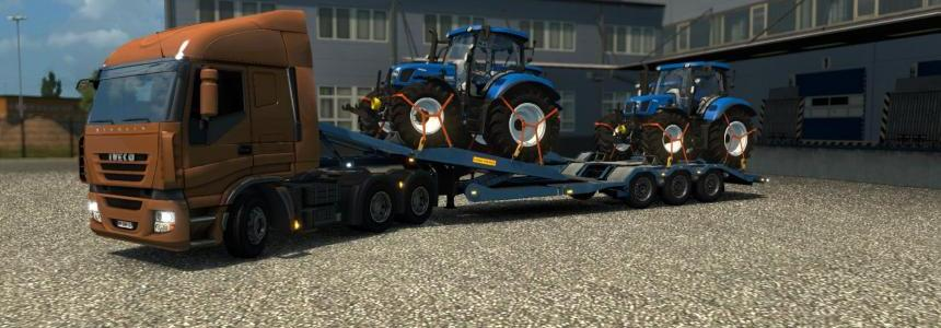 Single trailer - New Holland T6160 v1.0