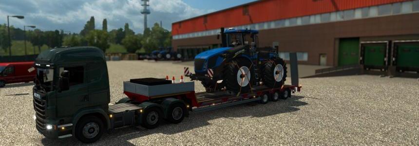 Single trailer - New Holland T9560 v1.0