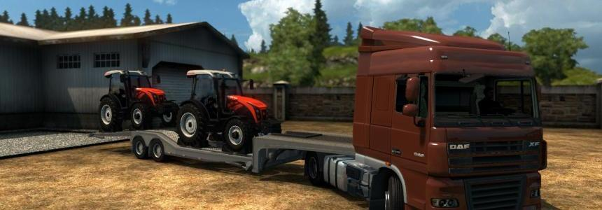 Single trailer - Ursus 8014h v1.0