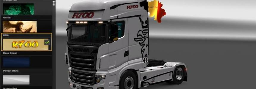 Skin for Scania R700 1.23.x