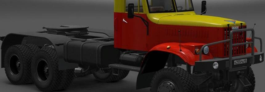 Skin Mosgortrans for KrAZ-255 1.22.x
