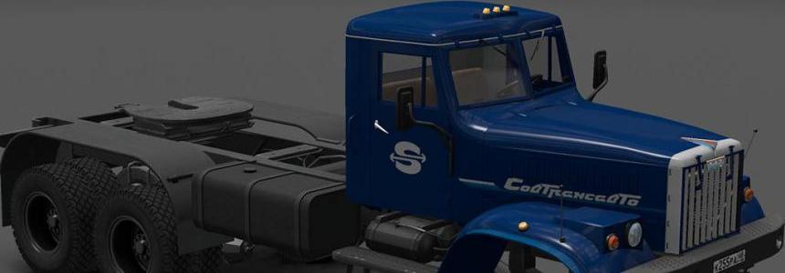 Skin SovTransAvto for Kraz 255 Truck 1.22