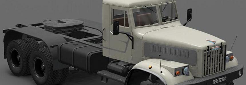 Skin Style001 for Kraz 255 Truck 1.22