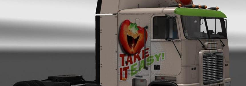Skin Take it easy! for Freightliner FLB