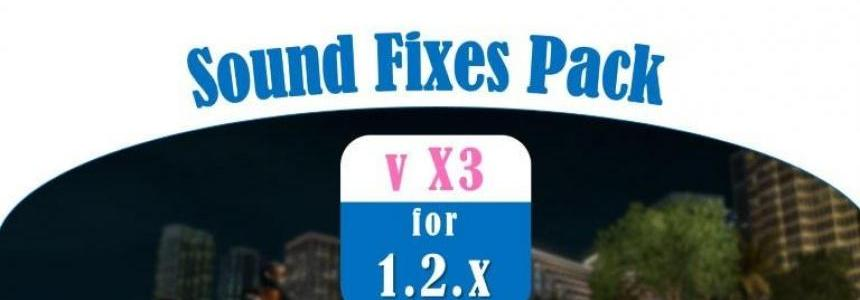 Sound Fixes Pack v X3