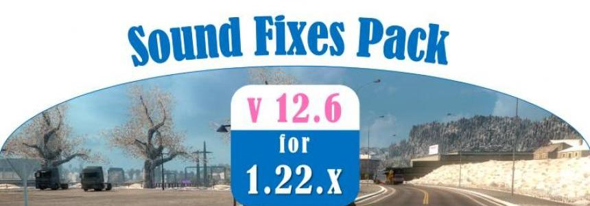 Sound Fixes pack v12.6