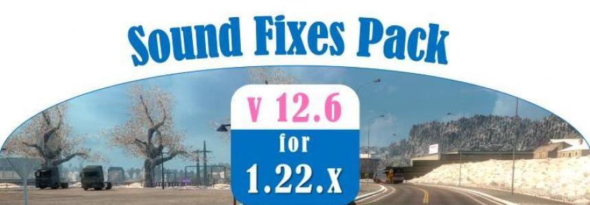 Sound Fixes pack v12.6