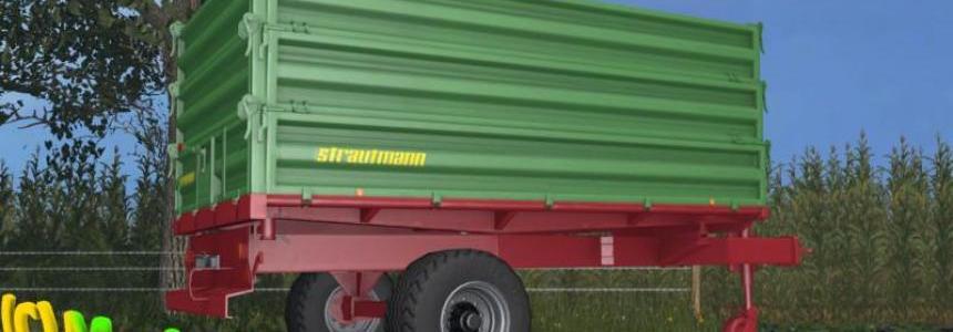 Strautmann wheeled tractors 3-loading v1.0