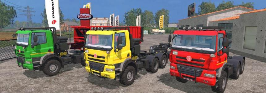 Tatra Phonix 6x6 Agro Truck + Trailer + Dolly