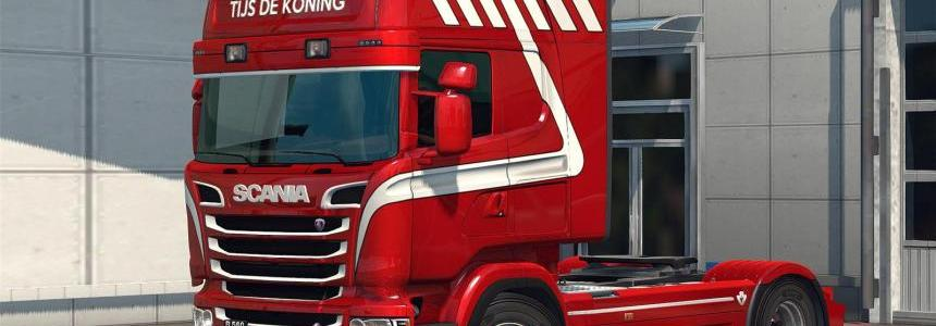 Tijs de Koning Skin for RJL's Scania R&S