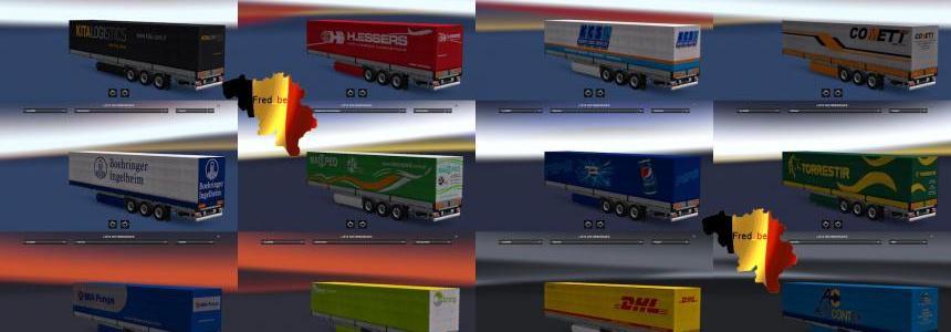 Trailer Pack Universal V1.23 (110 skins)