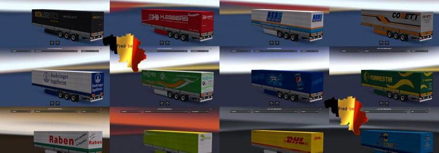 Trailer Pack Universal V1.23 (110 skins) Update