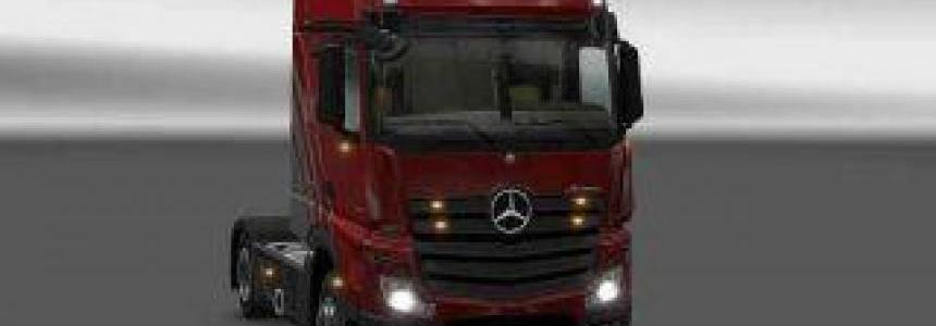 Tuning for the Mercedes Actros MP4 v3.1.5