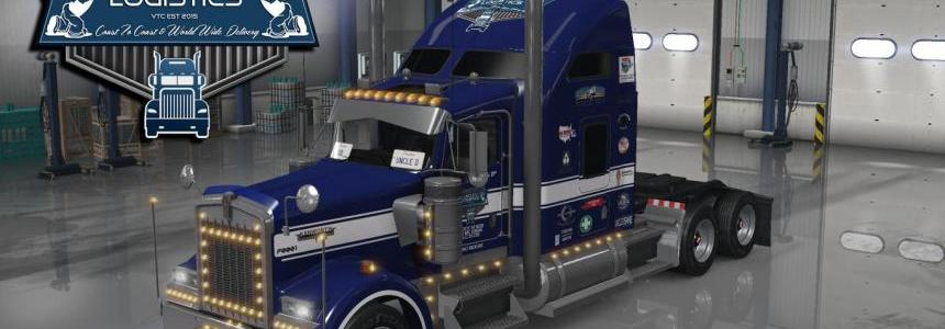 Uncle D Logistics 2016 Kenworth W900 Skin V1.0