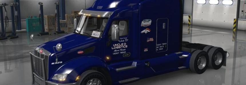 Uncle D Logistics Peterbilt 579 V1.0