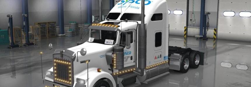 Uncle D Logistics - Sysco Food Service Kenworth W900 Skin