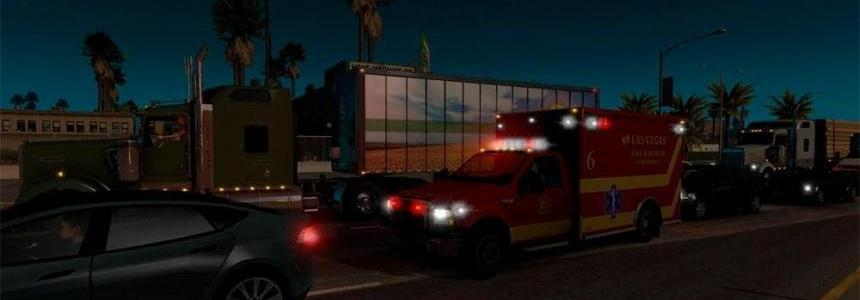 USA E.R. Traffic for ATS by Solaris36