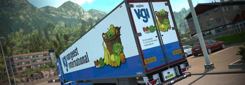 Van Geest International Chereau FRC trailer v1